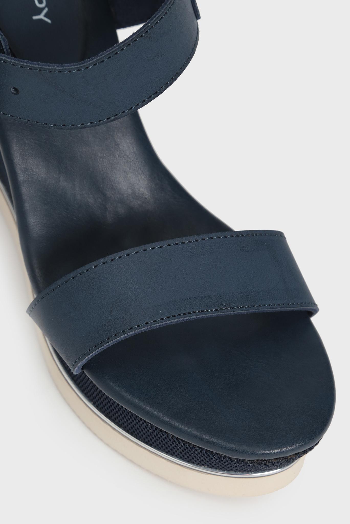 Женские темно-синие босоножки Afina Preppy