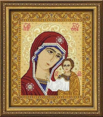 Набор для вышивания крестом «Богоматерь Казанская» (1038)