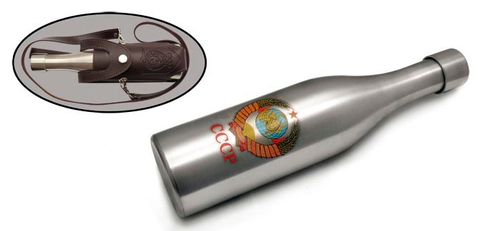 Фляга «Бутылка дорожная СССР»,  в чехле с ремнем, 510 мл