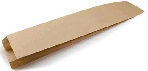 Пакет бумажный фасовочный 90х40х300 мм плоским дном