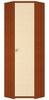 Гретта СБ-961 Шкаф угловой (вишня/клен)