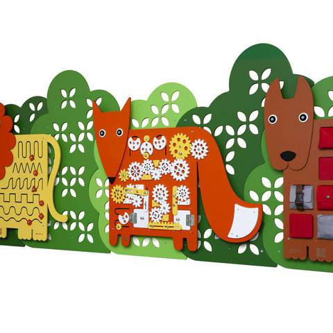 Стеновые панели.   Чудесные Животные.