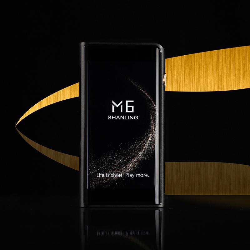 Shanling M6 (21) black, портативный аудиоплеер лучше Fiio