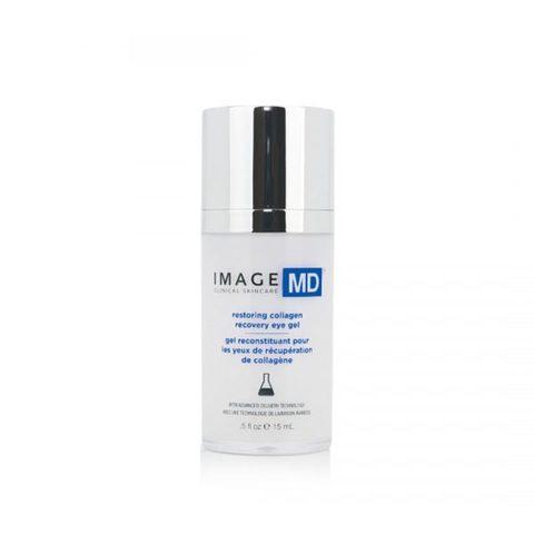 Крем-гель для век МД с пептидами MD Restoring Collagen Recovery Eye Gel, IMAGE MD, 15 мл.