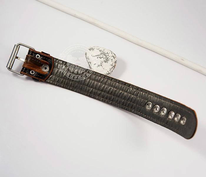 BL445-2 Оригинальный мужской браслет из натуральной кожи ручной работы фото 05