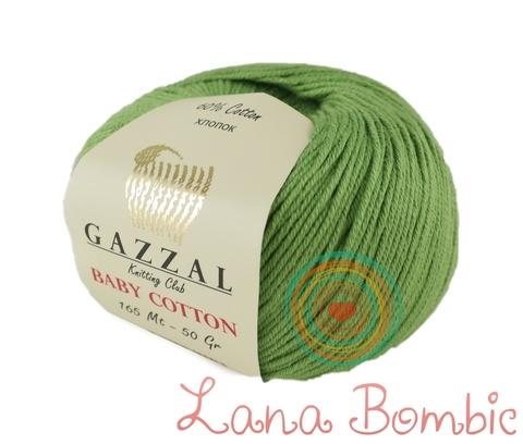 Пряжа Gazzal Baby Cotton 3448 миндаль