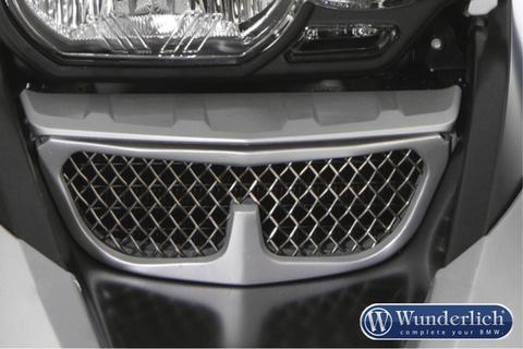 Защита масляного радиатора BMW R1200GS/GSA серебро