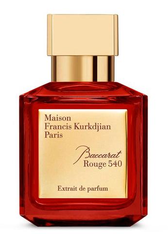 Maison Francis Kurkdjian Baccarat Rouge 540 Extrait De Parfum Eau De Parfum