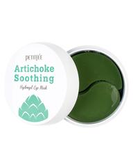 Охлаждающие гидрогелевые патчи для век Petitfee Artichoke Soothing Hydrogel Eye Mask с экстрактом артишока 60 шт