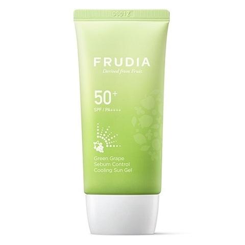 Солнцезащитный гель с зеленым виноградом Себум контроль SPF50+/PA ++++, 50 г, Frudia