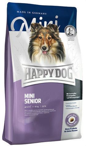 купить Happy Dog Supreme Mini Adult Senior сухой корм для взрослых пожилых собак до 10 кг