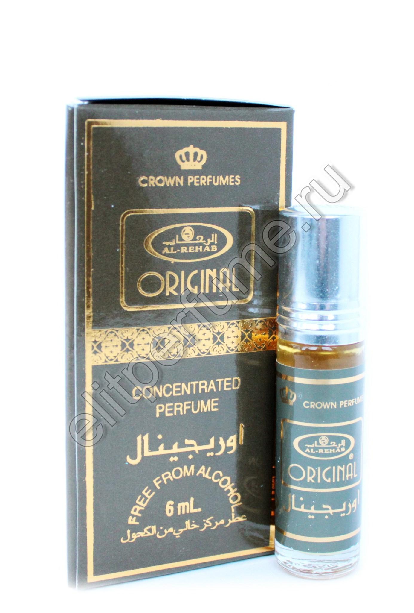 Original Ориджинал 6 мл арабские мужские масляные духи от Аль Рехаб Al Rehab