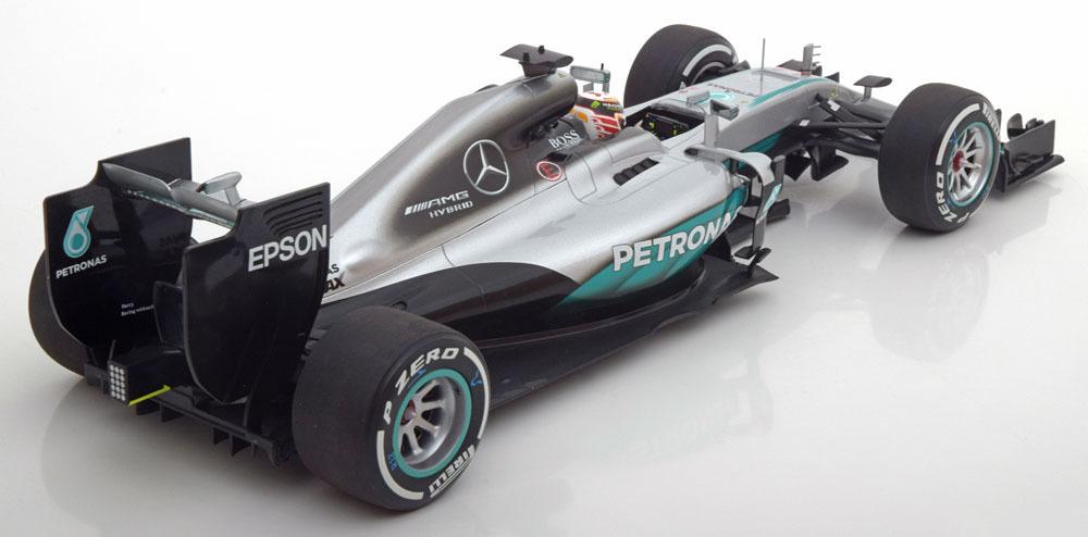 Коллекционная модель Mercedes-Benz AMG Petronas Formula One Team F1 W07 Hybrid Lewis Hamilton 2016