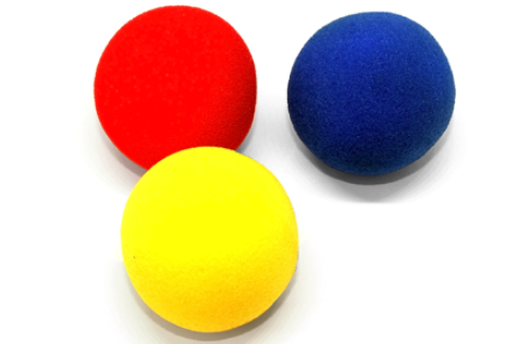 Поролоновые шарики (Super Soft Sponge) - 4,5 см