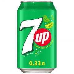 Напиток газированный 7up 0,33л