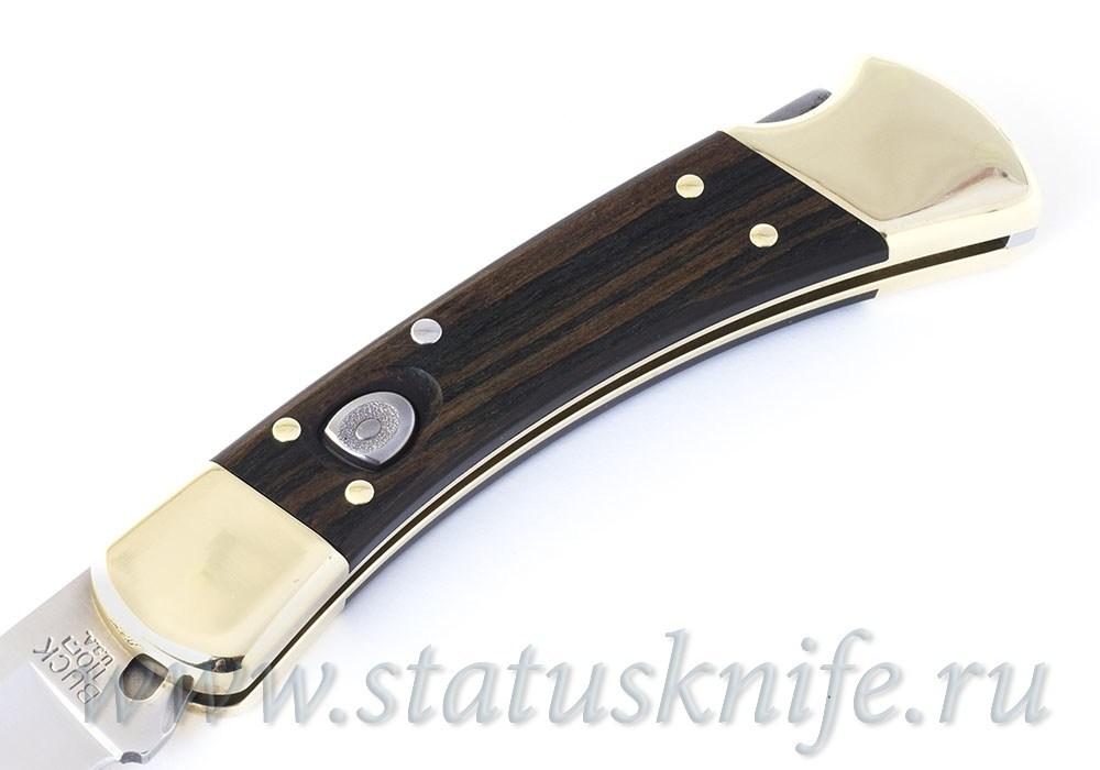 Нож BUCK 0110BRSA Hunter AUTO KNIFE - фотография