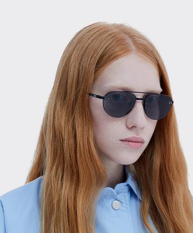 Солнцезащитные очки Fakoshima Yoko Black
