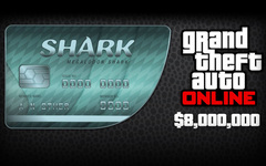 Grand Theft Auto Online : Megalodon Shark Cash Card (для ПК, цифровой ключ)