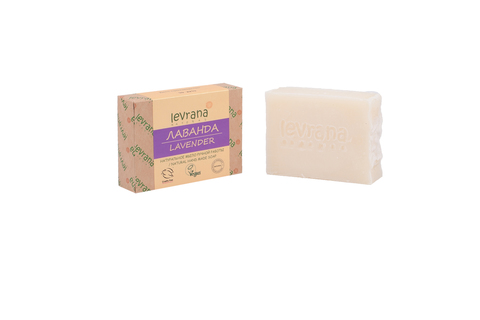 Levrana, Лаванда, натуральное мыло, 100гр