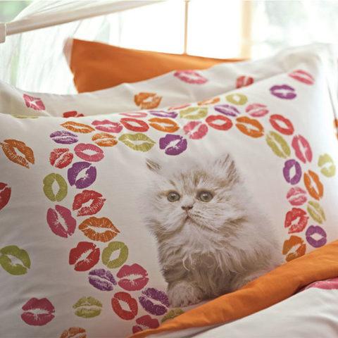Детское постельное белье KITTY 1.5сп  deluxe TIVOLYO HOME Турция