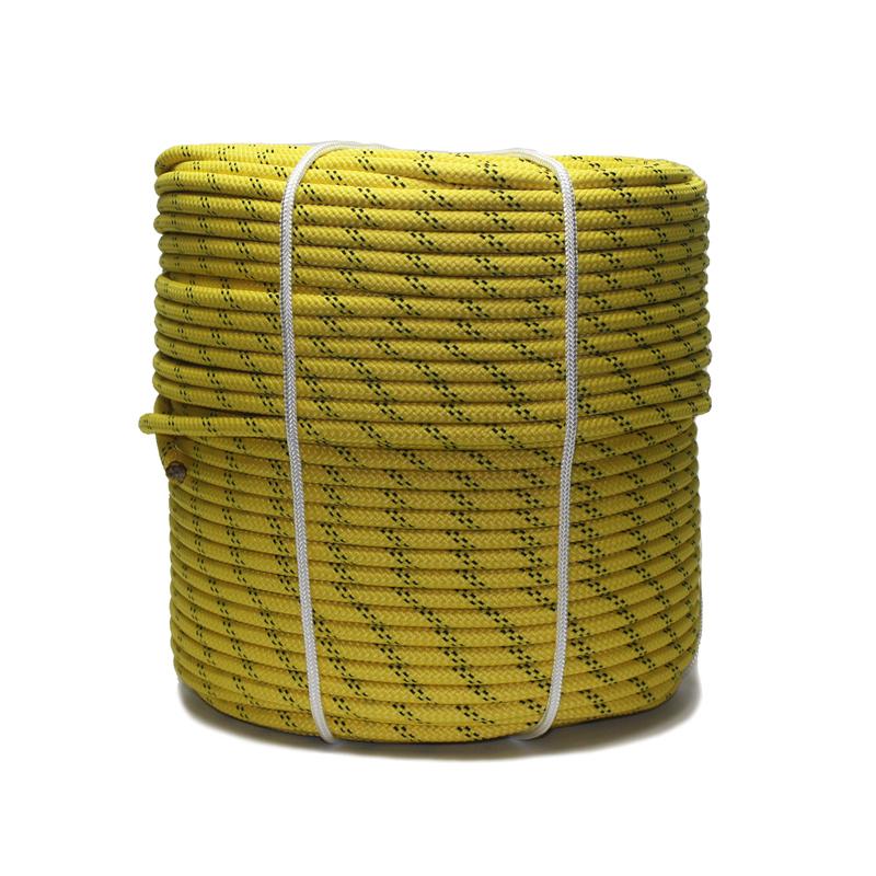 Веревка страховочная статическая 10 мм 32-прядная (ГОСТ)