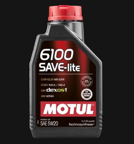 Масло моторное MOTUL 6100 SAVE-LITE 5W20