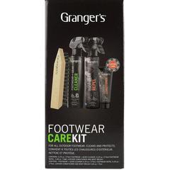 Набор для ухода за обувью Grangers Footwear Repel, Footwear Cleaner, Leather Conditioner