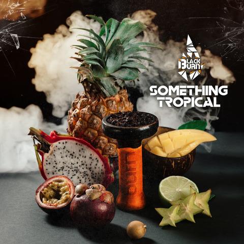 Табак Burn Black Something Tropic (Что-то тропическое) 100 г