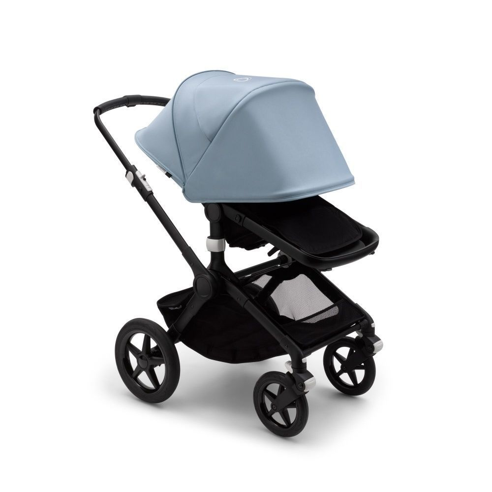 Коляска 2 в 1 Bugaboo Fox2 Complete BLACK/BLACK/FRESH WHITE