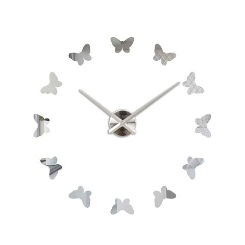 Настенные 3D часы большие самоклеющиеся ЧЗ ИДЕАЛ