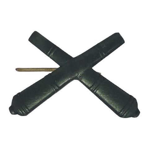 Эмблема петличная РВиА, металл. защитный