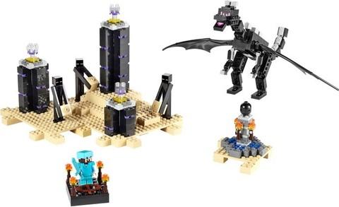LEGO Minecraft: Дракон Края 21117 — The Ender Dragon — Лего Майнкрафт