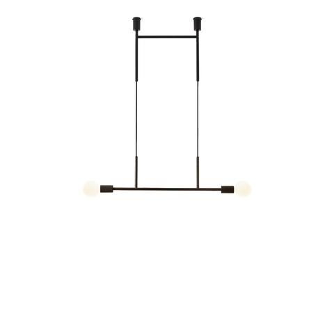 Потолочный светильник копия Wide Step by Volker Haug (черный)