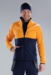 Утеплённая лыжная куртка Nordski Premium Orange-Blueberry 2020