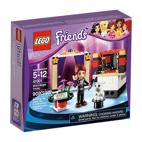 LEGO Friends: Мия — фокусница 41001 — Mia's Magic Tricks — Лего Друзья Продружки Френдз