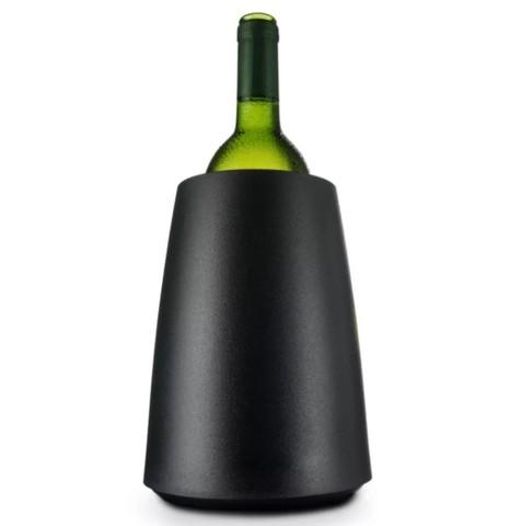 Охладительное ведёрко Элегант для вина, черное