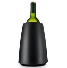 Охладительное ведёрко Элегант для вина, черное, фото 1