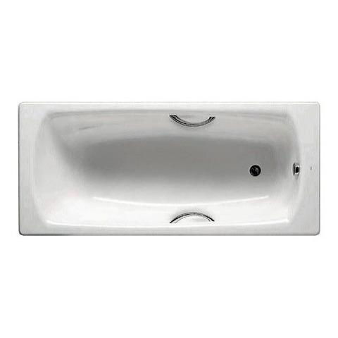 Ванна стальная  Roca PRINCESS 150х75 с ручками и ножками