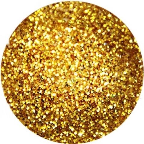 Цветная акриловая пудра Шиммерная золотая