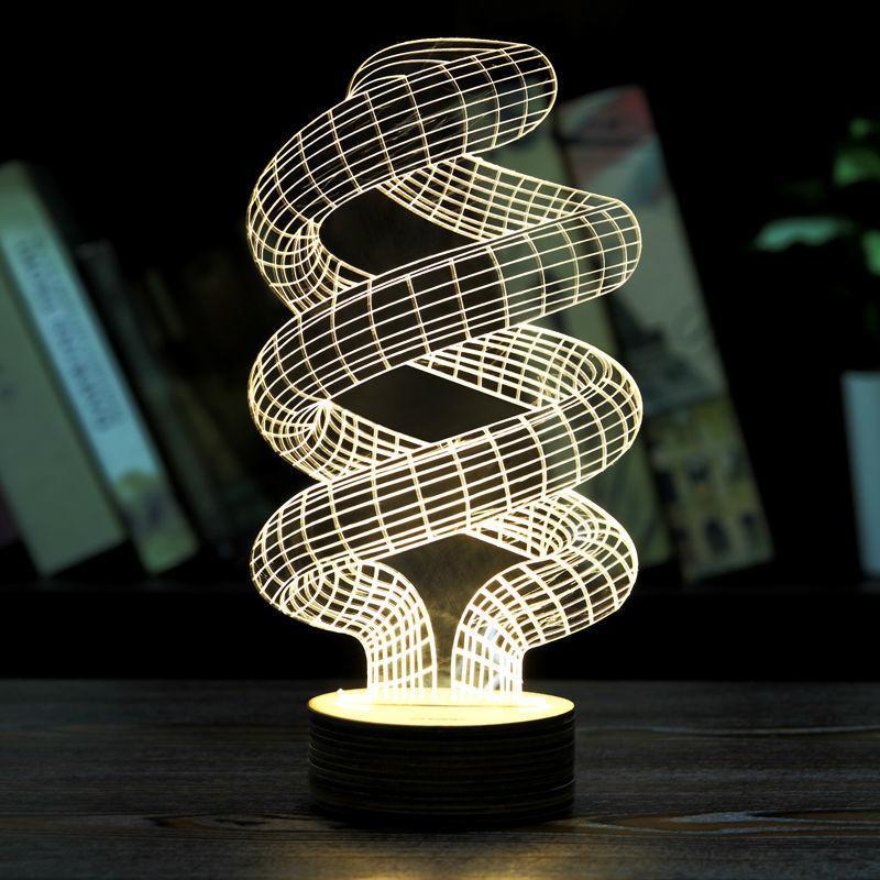 """Светильники и ночники Светодиодная 3D лампа """"Спираль"""" 26f77f65a71dc8cbe4e3b5a3cc0ee256.jpg"""