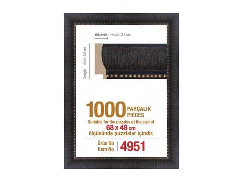 Pazl çərçivəsi (68 x 48 cm.) 4951