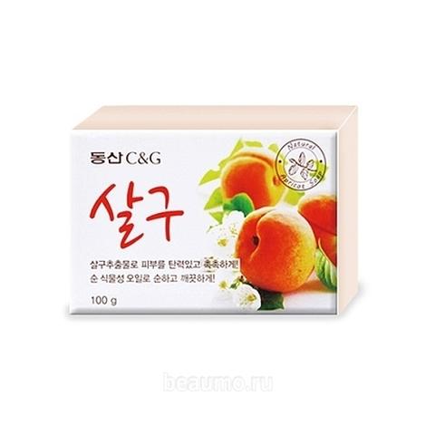 Мыло туалетное абрикос CLIO Apricot Soap 100 гр