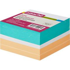 Блок для записей Attache 90x90x50 мм разноцветный (плотность 80-100 г/кв.м)