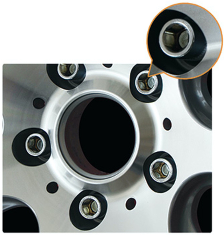 Болт колёсный М12x1.25 длина=28мм внутренний 6-гранник конус 60º хром