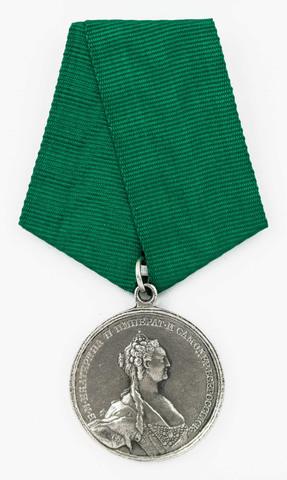 """Медаль """"За прививание оспы"""" (копия)"""