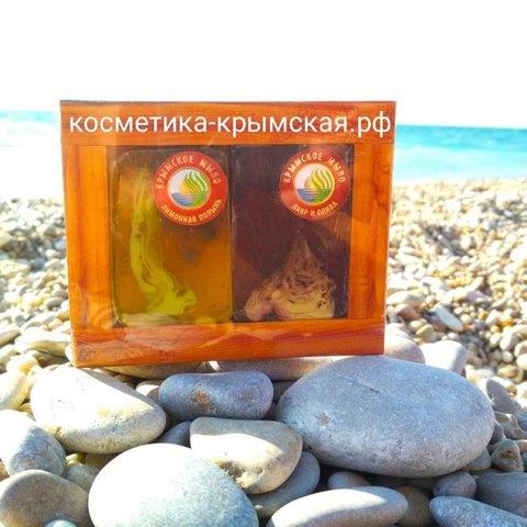 Набор мыла «Лимонная полынь» и «Лавр и олива»™Фитон-Крым
