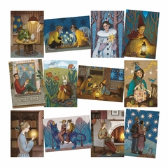 С. Водолажская. Набор почтовых открыток