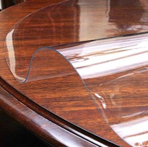 Скатерть круглая прозрачная 102 см толщина 1 мм