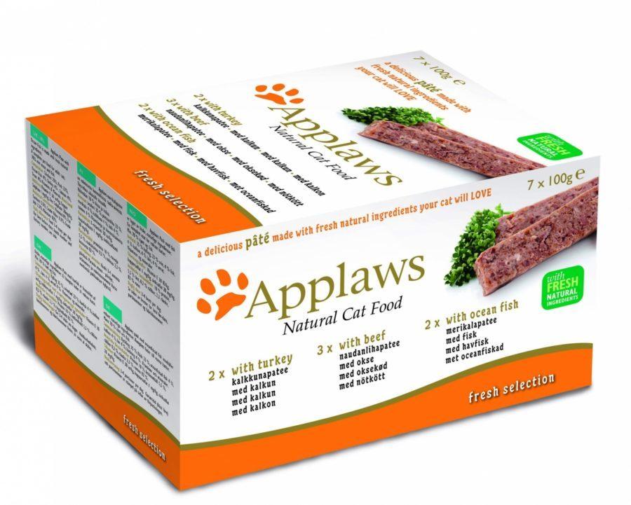 купить  Applaws Cat Pate MP Turkey, beef, Ocean Fish набор паучей для кошек