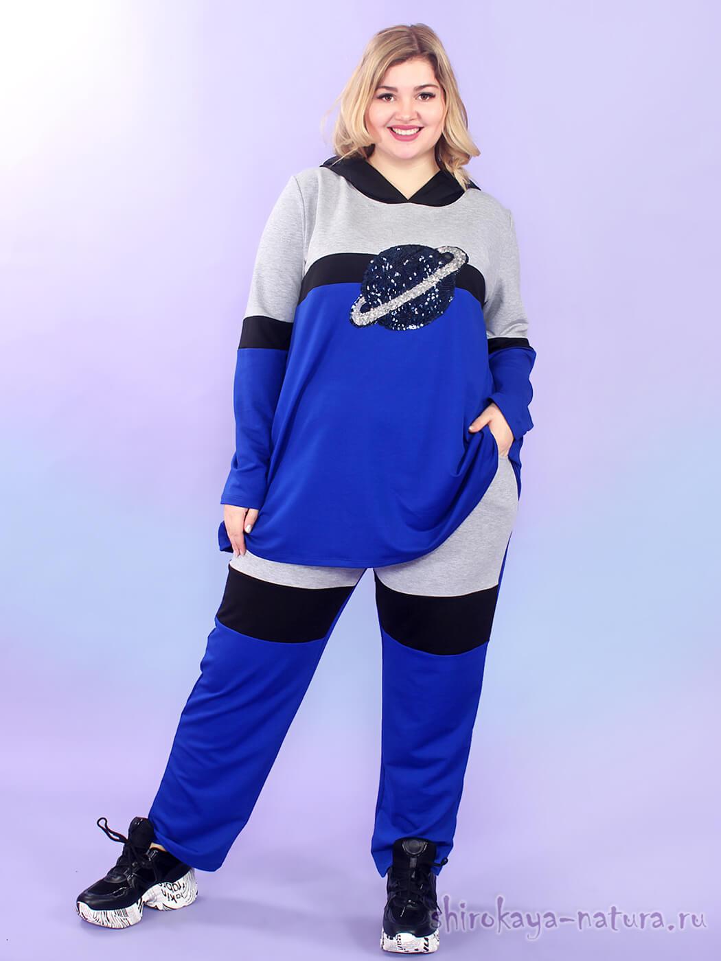 Спортивный костюм из футера Blue Planet